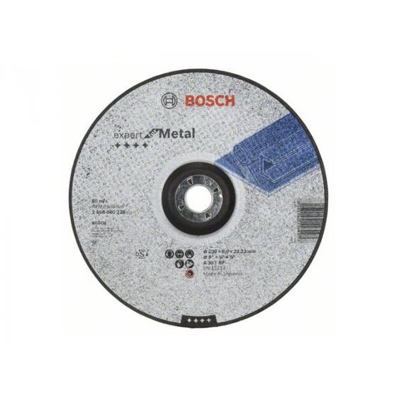 Круг обдирочный 230х6x22.2 мм для металла BOSCH