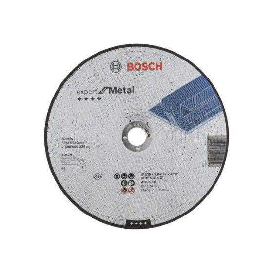 Круг отрезной 230х3.0x22.2 мм для металла Expert BOSCH
