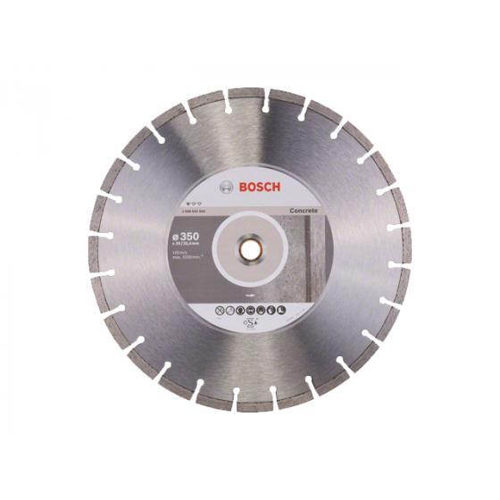 Алмазный круг 350х20/25.4 мм по бетону сегмент. STANDARD FOR CONCRETE BOSCH