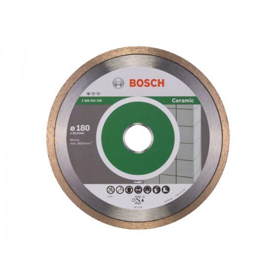 Алмазный круг 180х25.4 мм по керамике сплошн. STANDARD FOR CERAMIC BOSCH