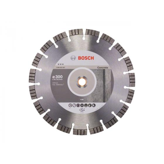 Алмазный круг 300х20/25.4 мм по бетону сегмент. BEST FOR CONCRETE BOSCH