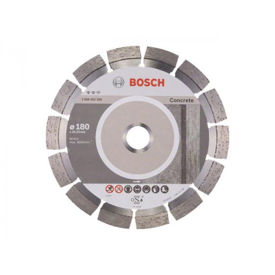 Алмазный круг 180х22 мм по бетону сегмент. EXPERT FOR CONCRETE BOSCH (сухая резка) [2608602558]