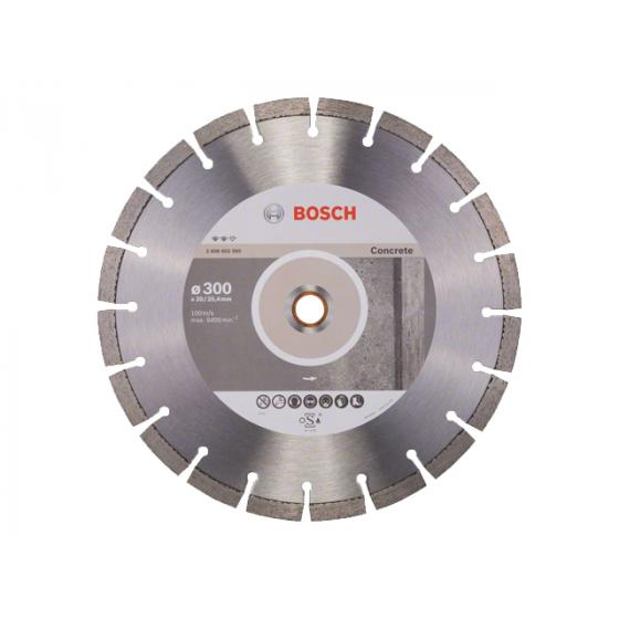Алмазный круг 300х20/25.4 мм по бетону сегмент. STANDARD FOR CONCRETE BOSCH