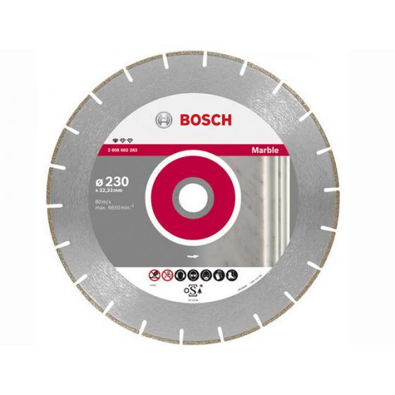 Алмазный круг 115х22 мм по мрамору сегмент. STANDARD FOR MARBLE BOSCH (сухая резка) [2608602282]