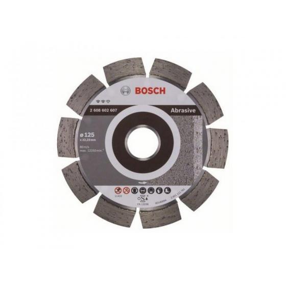 Алмазный круг 125х22 мм по абразив. матер. сегмент. EXPERT FOR ABRASIVE BOSCH