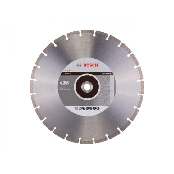 Алмазный круг 350х20/25.4 мм по абразив. матер. сегмент. STANDARD FOR ABRASIVE BOSCH