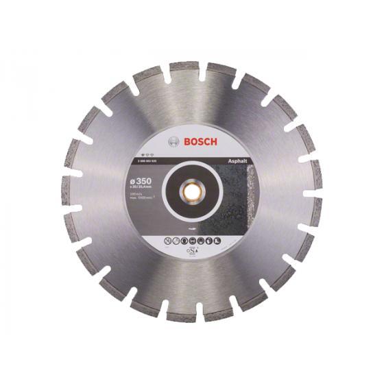 Алмазный круг 350х20/25.4 мм по асфальту сегмент. STANDARD FOR ASPHALT BOSCH