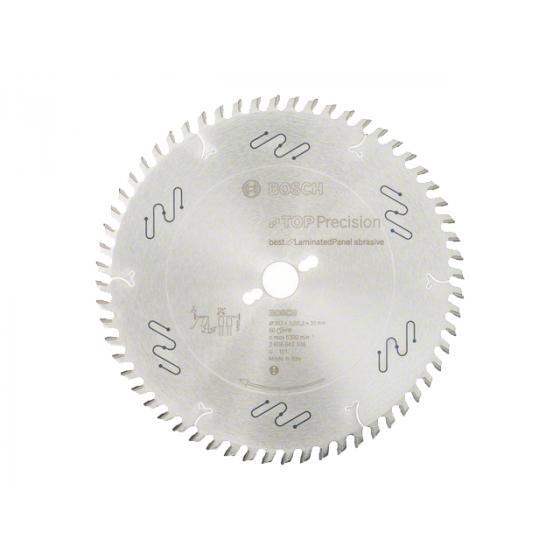 Диск пильный 303х30 мм 60 зуб. по композитн. матер. BEST FOR LAMINATED PANEL BOSCH