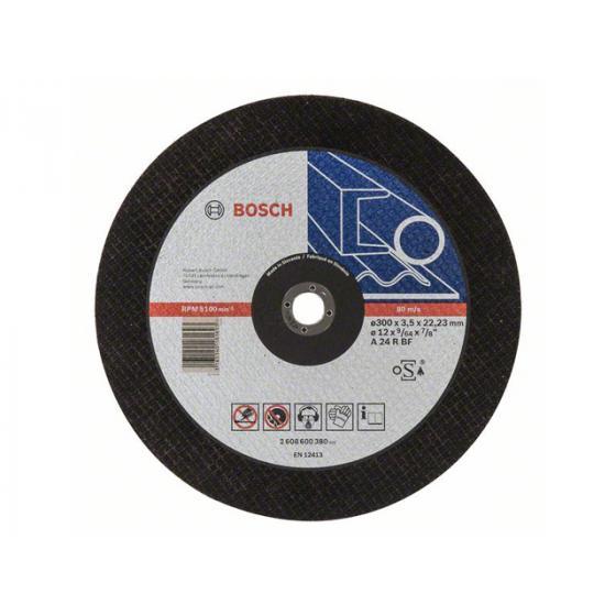Круг отрезной 300х3.5x22.2 мм для металла Expert BOSCH [2608600380]