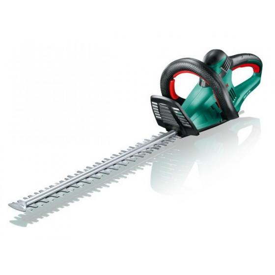 Кусторез электрический BOSCH AHS 55-26 (600 Вт, длина ножа 550 мм, шаг ножа: 26 мм, вес 3.6 кг) [0600847G00]