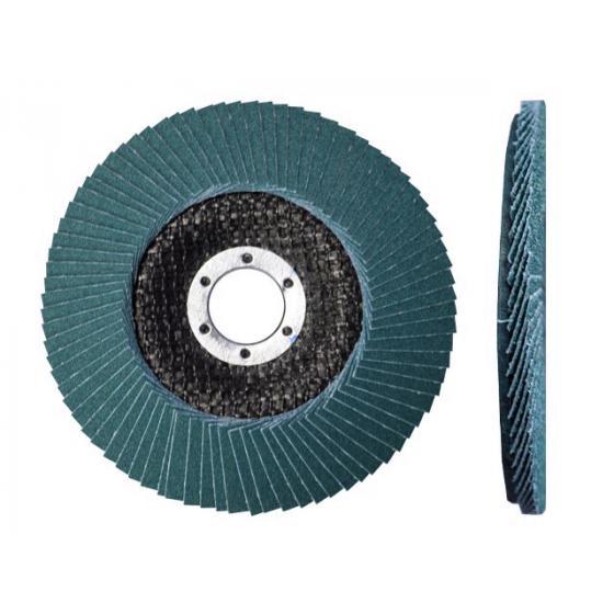 Круг лепестковый 150х22мм ZK80 ST плоск. КЛТ1 (Луга)