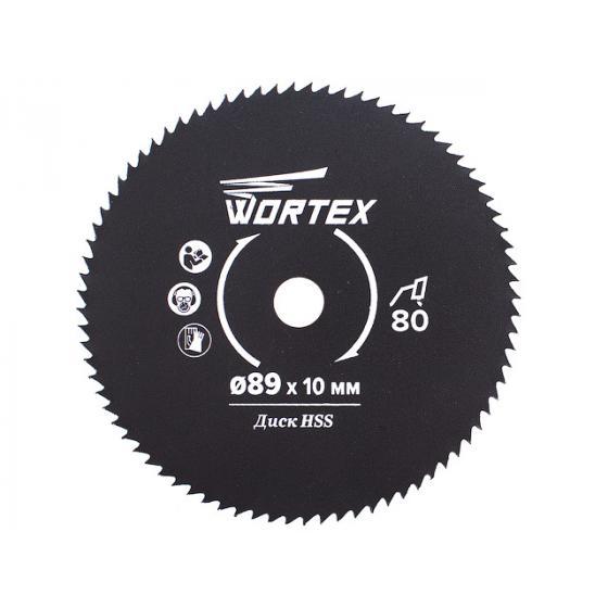 Диск пильный по металлу 89x10 мм 80 зуб. HS S080 M в блистере