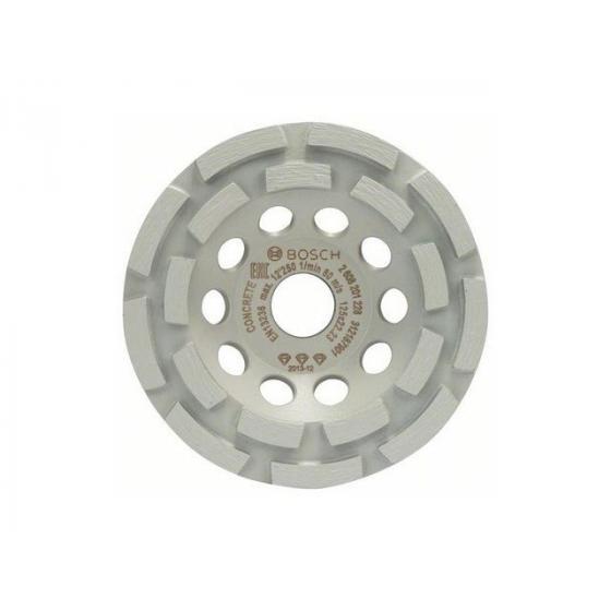 Алмазная чашка 125х22 мм по бетону двурядная BEST FOR CONCRETE BOSCH