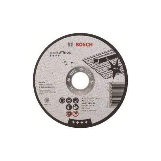 Круг отрезной 125х2.0x22.2 мм для нерж. стали Expert BOSCH