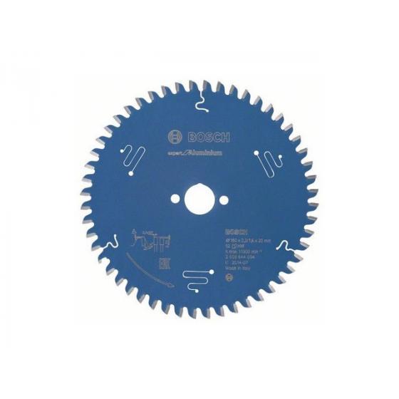 Диск пильный 160х20 мм 52 зуб. по алюминию EXPERT FOR ALUMINIUM BOSCH