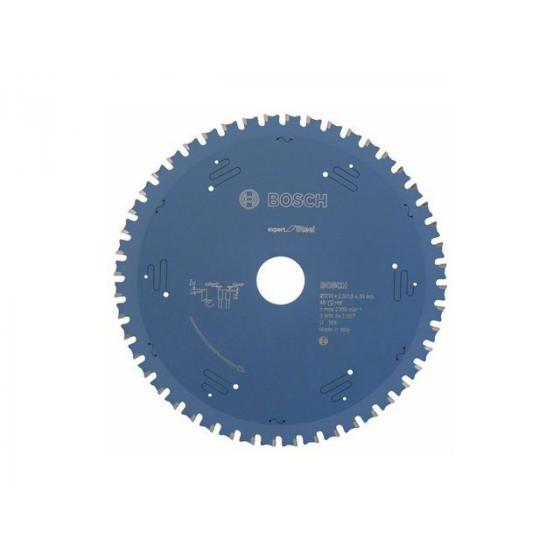 Диск пильный 210х30 мм 48 зуб. по металлу EXPERT FOR STEEL BOSCH
