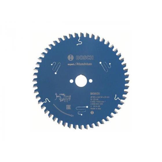 Диск пильный 165х20 мм 52 зуб. по алюминию EXPERT FOR ALUMINIUM BOSCH