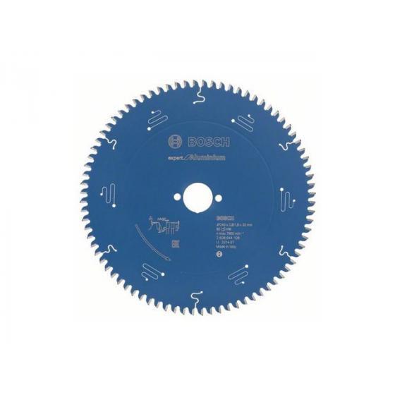Диск пильный 240х30 мм 80 зуб. по алюминию EXPERT FOR ALUMINIUM BOSCH (твердоспл. зуб) [2608644108]