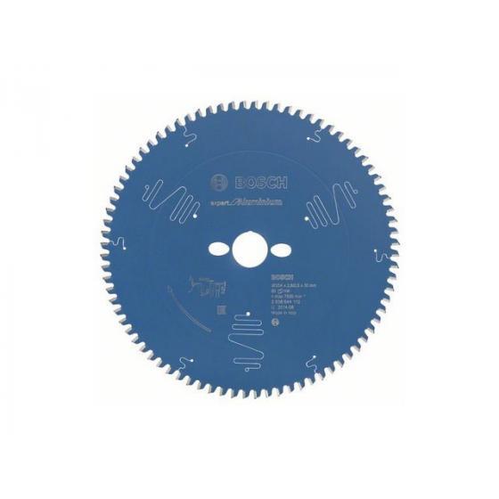 Диск пильный 254х30 мм 80 зуб. по алюминию EXPERT FOR ALUMINIUM BOSCH