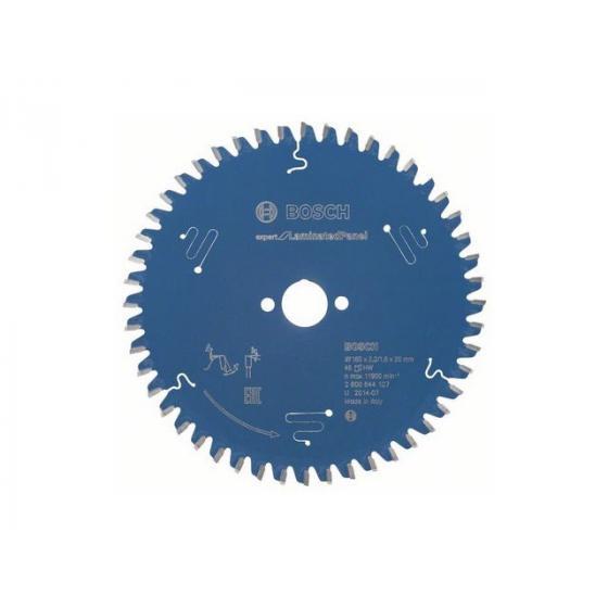 Диск пильный 160х20 мм 48 зуб. по композитн. матер. EXPERT FOR LAMINATED PANEL BOSCH (твердоспл. зуб) [2608644127]