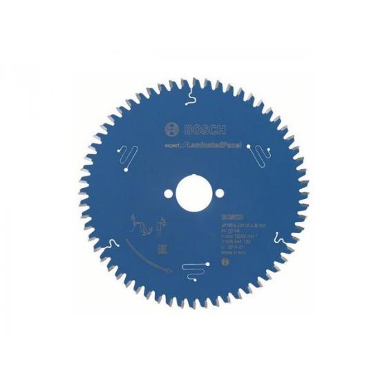 Диск пильный 190х30 мм 60 зуб. по композитн. матер. EXPERT FOR LAMINATED PANEL BOSCH