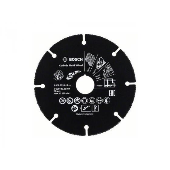 Круг отрезной 125х1.0x22.2 мм для дерева Multi Wheel BOSCH