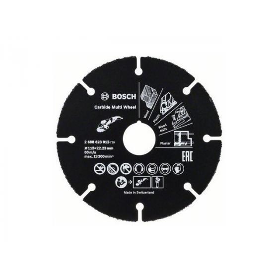 Круг отрезной 115х1.0x22.2 мм для дерева Multi Wheel BOSCH