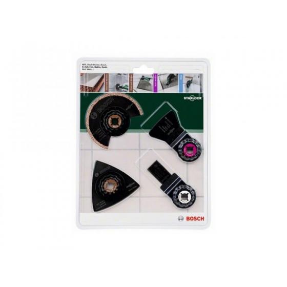 Набор оснастки для многофункционального инструмента BOSCH по керамической плитке