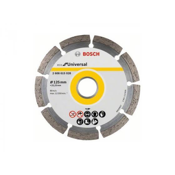 Алмазный круг 125х22 мм универс. сегмент. ECO UNIVERSAL BOSCH
