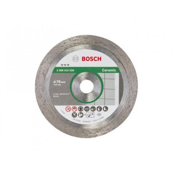 Алмазный круг 76х10 мм по керамике сплошн. BEST FOR CERAMIC BOSCH