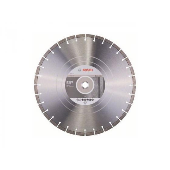 Алмазный круг 450х25.4 мм по бетону сегмент. BEST FOR CONCRETE BOSCH (сухая/мокрая резка) [2608602660]