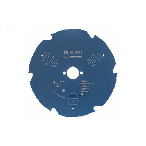 Диск пильный 216х30/25,4 мм 6 зуб. по гипсокартону EXPERT FOR FIBERCEMENT BOSCH