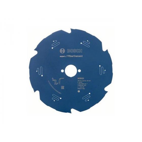 Диск пильный 210х30/25,4 мм 6 зуб. по гипсокартону EXPERT FOR FIBERCEMENT BOSCH