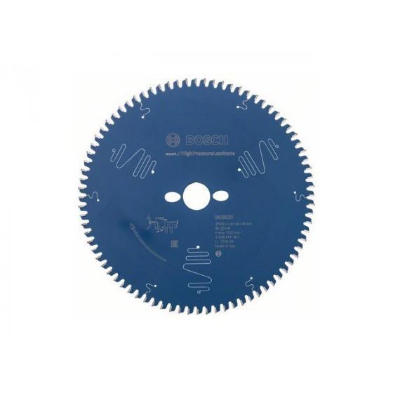 Диск пильный 260х30 мм 80 зуб. по ламинату EXPERT FOR HIGH PRESSURE LAMINATE BOSCH