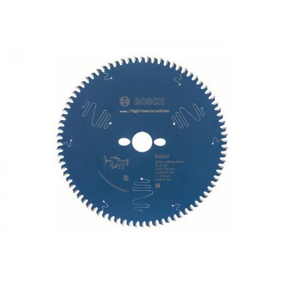 Диск пильный 254х30 мм 80 зуб. по ламинату EXPERT FOR HIGH PRESSURE LAMINATE BOSCH
