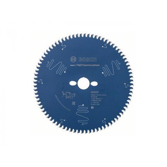 Диск пильный 250х30 мм 80 зуб. по ламинату EXPERT FOR HIGH PRESSURE LAMINATE BOSCH (твердоспл. зуб) [2608644358]