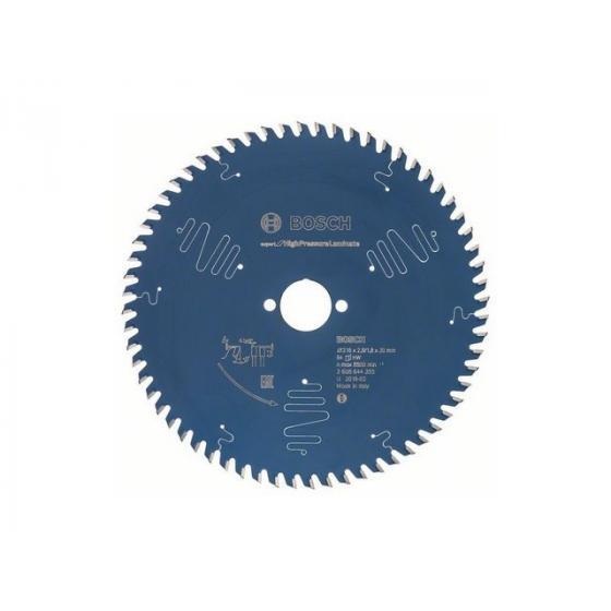 Диск пильный 216х30/25,4 мм 64 зуб. по ламинату EXPERT FOR HIGH PRESURE LAMINATE BOSCH