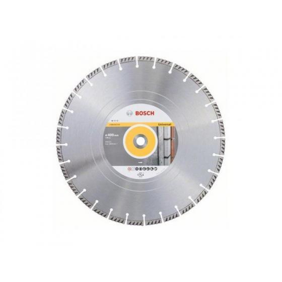 Алмазный круг 400х20 мм универс. сегмент. Turbo STANDARD FOR UNIVERSAL BOSCH