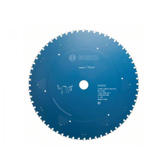 Диск пильный 305х25,4 мм 60 зуб. по металлу EXPERT FOR STEEL BOSCH