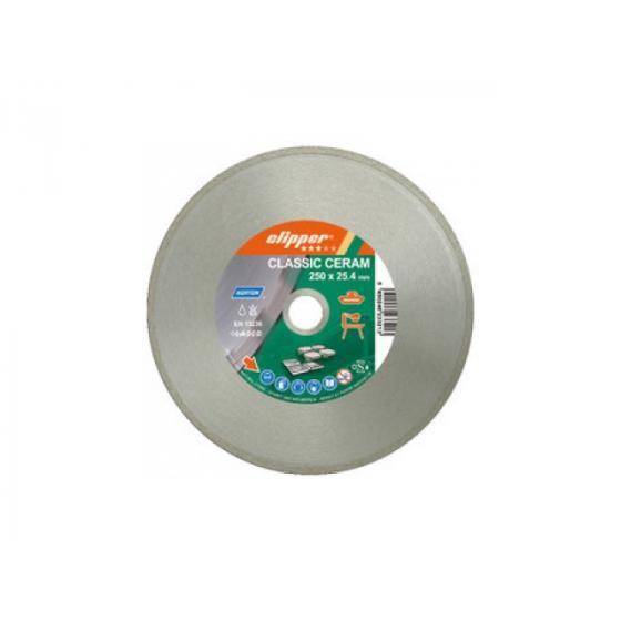 Алмазный круг 230х25.4мм Classic CERAM CLIPPER NORTON (керамика, сухая/мокрая резка) [70184628734]