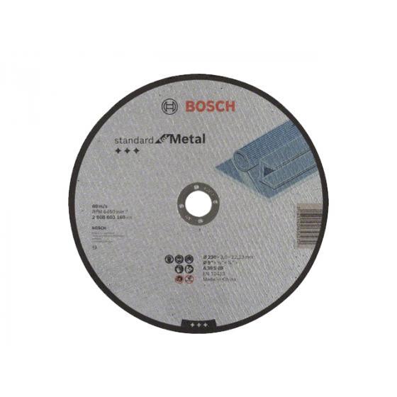 Круг отрезной 230х3.0x22.2 мм для металла Standart BOSCH