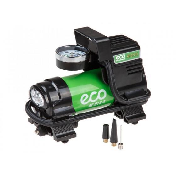 Компрессор автомобильный ECO AE-013-3 (35 л/мин, 10bar, 130Вт, 12В)