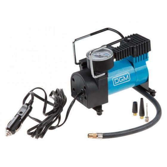 Компрессор автомобильный DGM AC-0911 (35 л/мин, 10 бар, 130 Вт)
