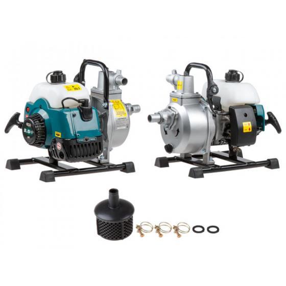 Мотопомпа бензиновая ECO WP-152C (для слабозагрязненной воды, 1,8кВт, 150 л/мин, 2-х такт) [WP-152C]