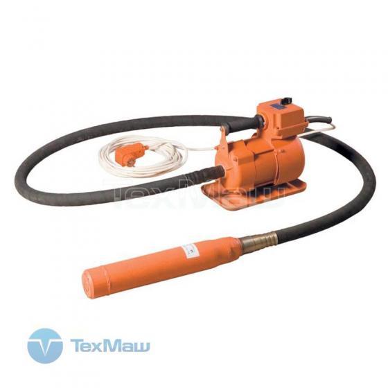 Глубинный вибратор ЭПК-1300 / 3м / 76мм /Красный Маяк/